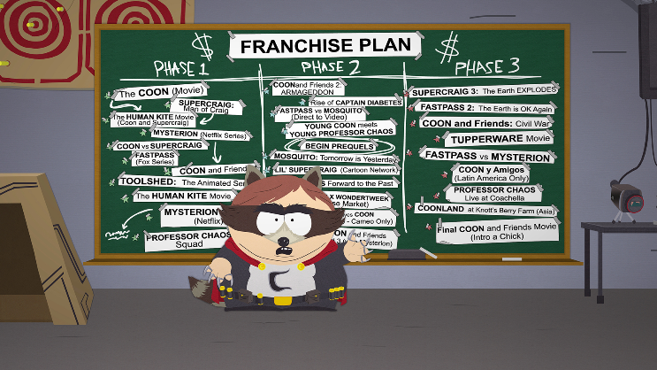 Xbox One South Park The Fructured But Whole