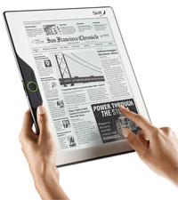 דפדפן מובנה יאפשר גלישה בסיסית, בעיקר לחנות הספרים או לאתרי חדשות