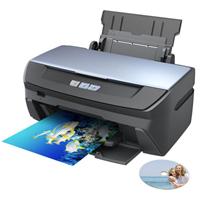 מדפסת הזרקת דיו מתאימה לצרכים רב תכליתיים האופייניים לשימוש ביתי, בהם הדפסת מסמכי טקסט, גרפיקה ותמונות
