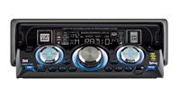 בפאנל גולש ניתן לתפעל את הרדיו-דיסק כשהפאנל פתוח
